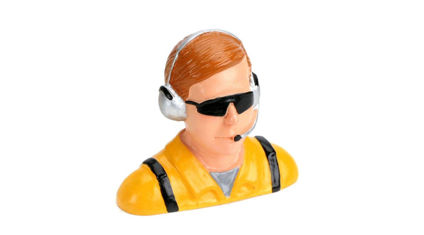 Image for 1/4 Pilot, Civilian with Headset & Mic, Sunglasses from HorizonHobby