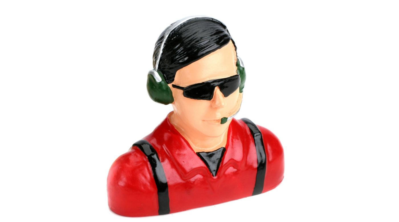 Image for 1/4 Pilot - Civilian with Headets, Mic&Sunglasses from HorizonHobby