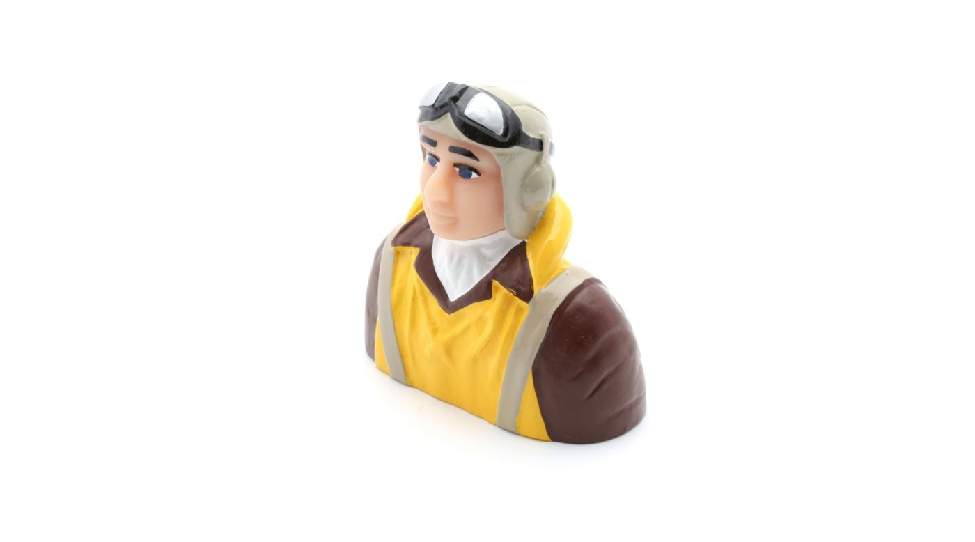 Image for 1/6 Scale WWII Pilot with Vest, Helmet, Goggles from HorizonHobby