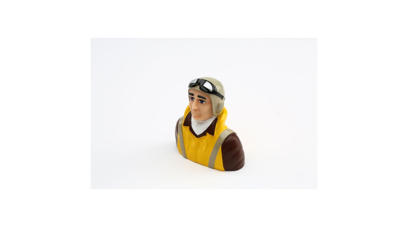 Image for 1/5 Scale WWII Pilot with Vest, Helmet, Goggles from HorizonHobby