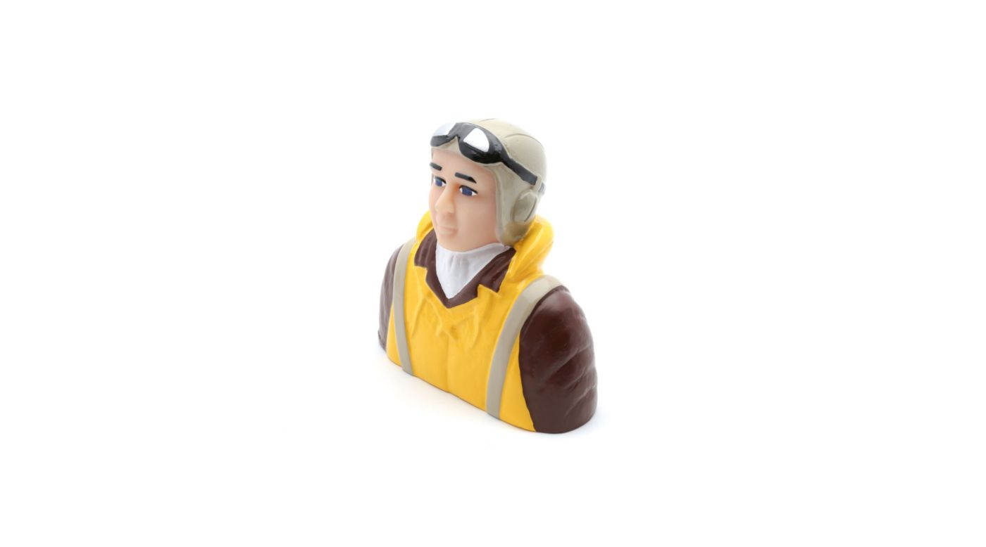 Image for 1/4 Scale WWII Pilot with Vest, Helmet, Goggles from HorizonHobby