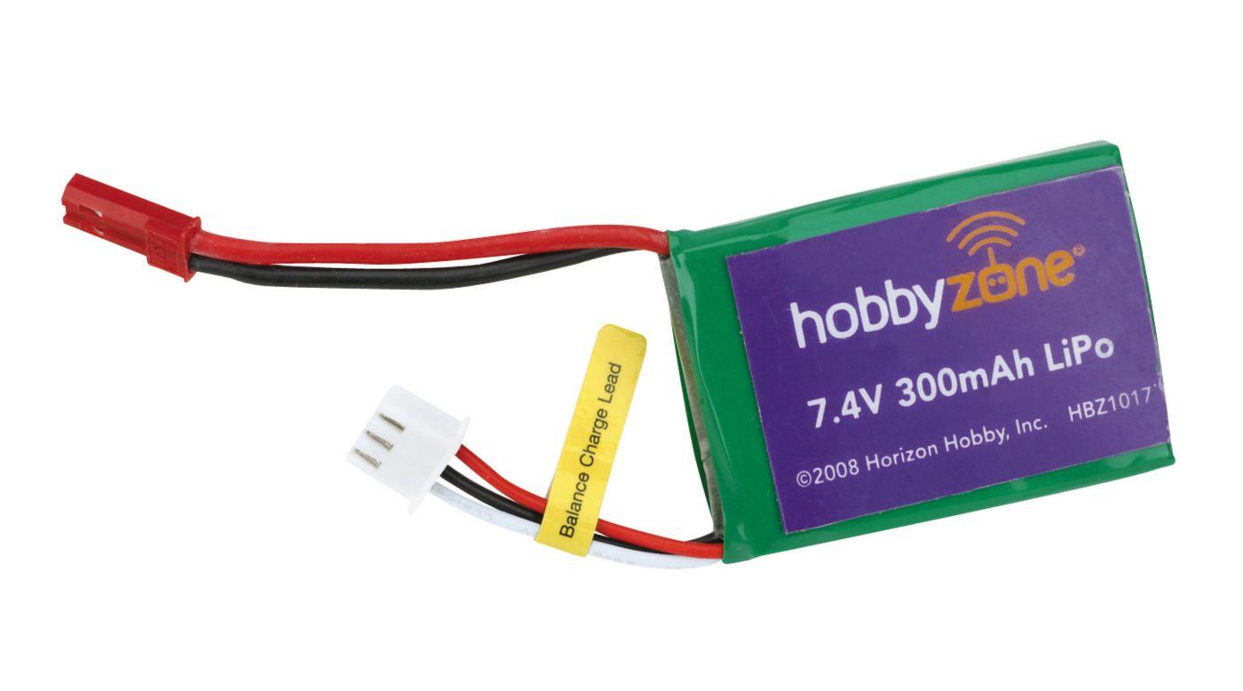 Image for 7.4V 300mAh LiPo Battery: Mini Cub from HorizonHobby