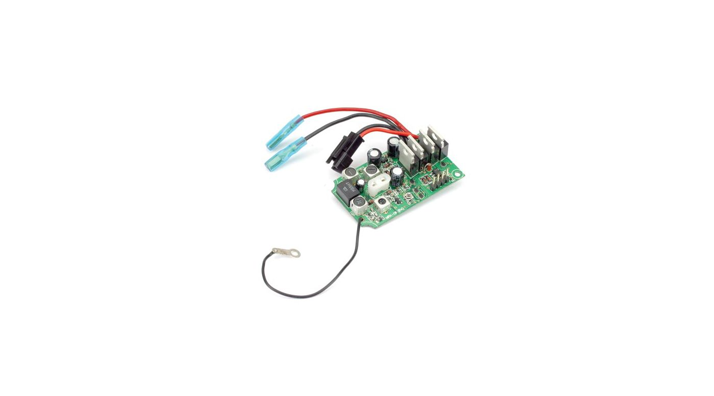 Receiver Esc No Crystal Mini Mauler Horizonhobby Electrical Wiring Image For From