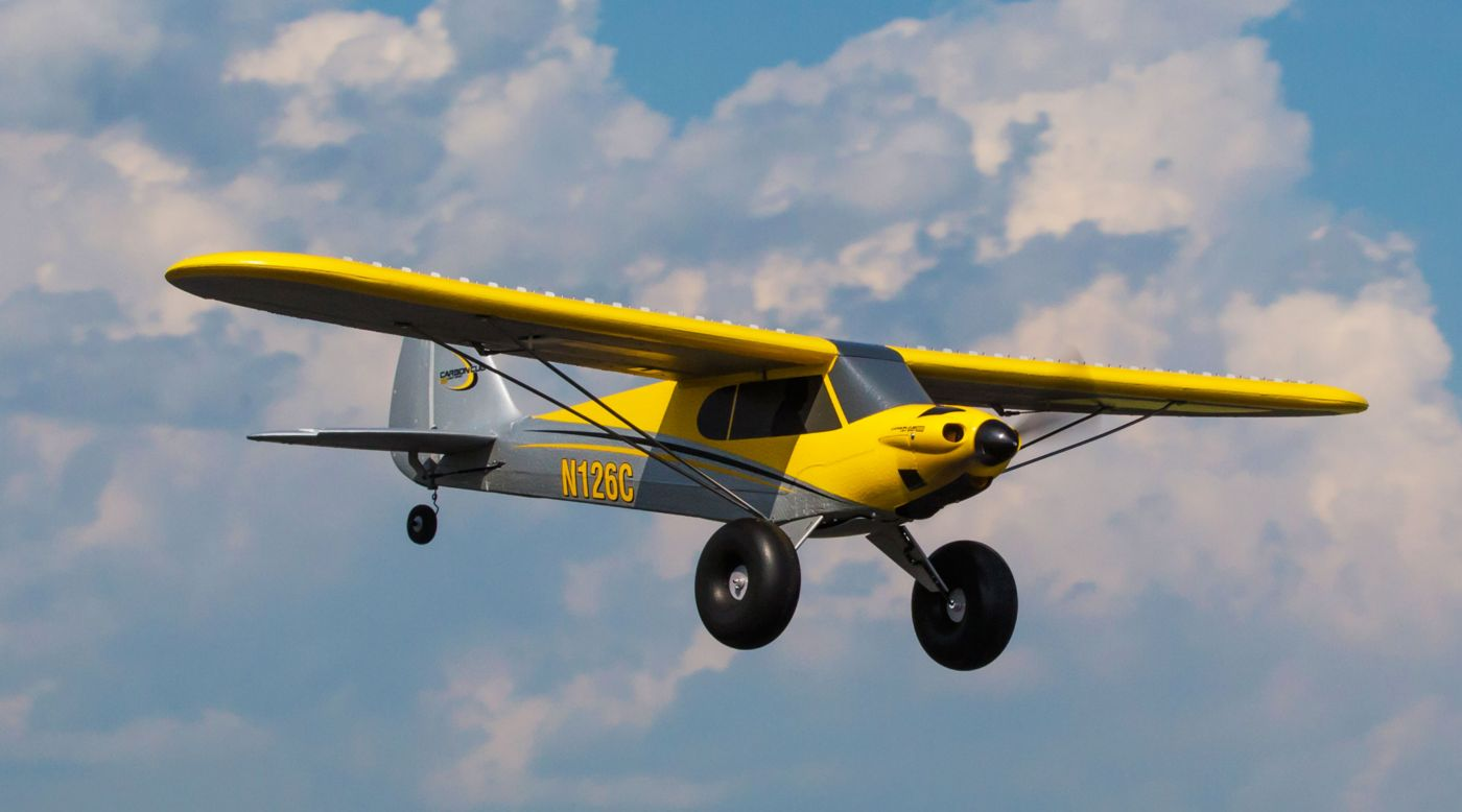 Image for Carbon Cub S+ 1.3m BNF Basic from HorizonHobby