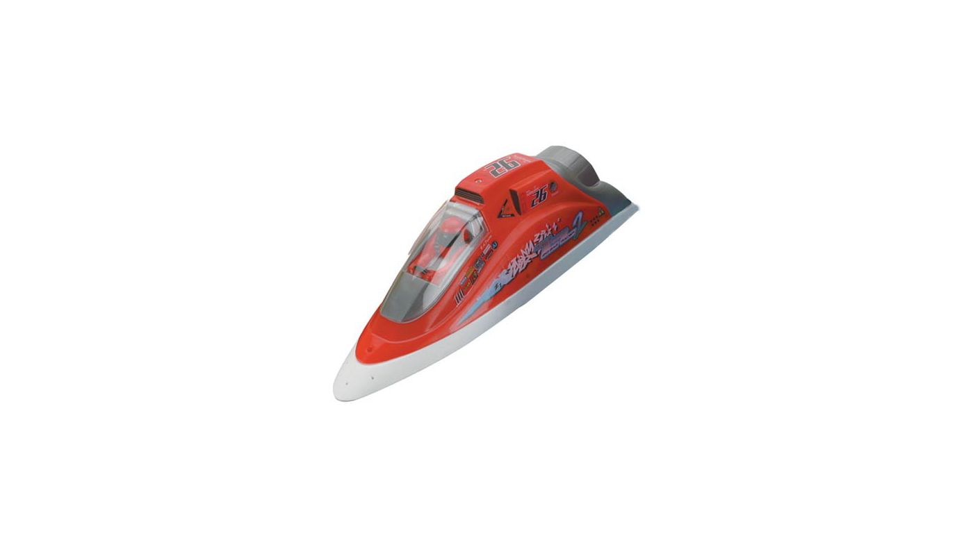 Image for Zig Zag Racer 2, Red (CH2 or 5) from HorizonHobby