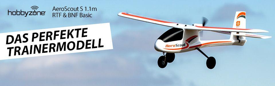HobbyZone<sup>®</sup> AeroScout? S 1.1m