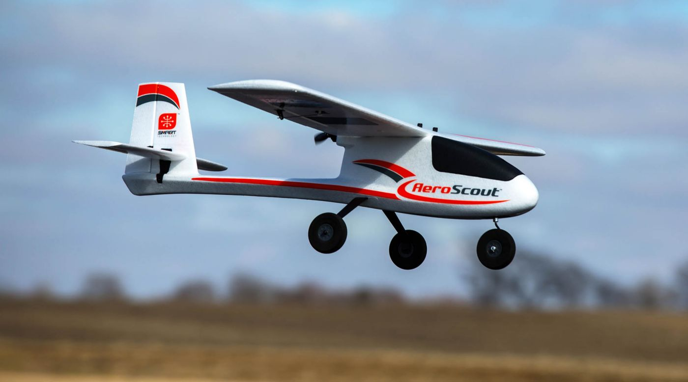 Image for AeroScout S 1.1m BNF Basic from HorizonHobby