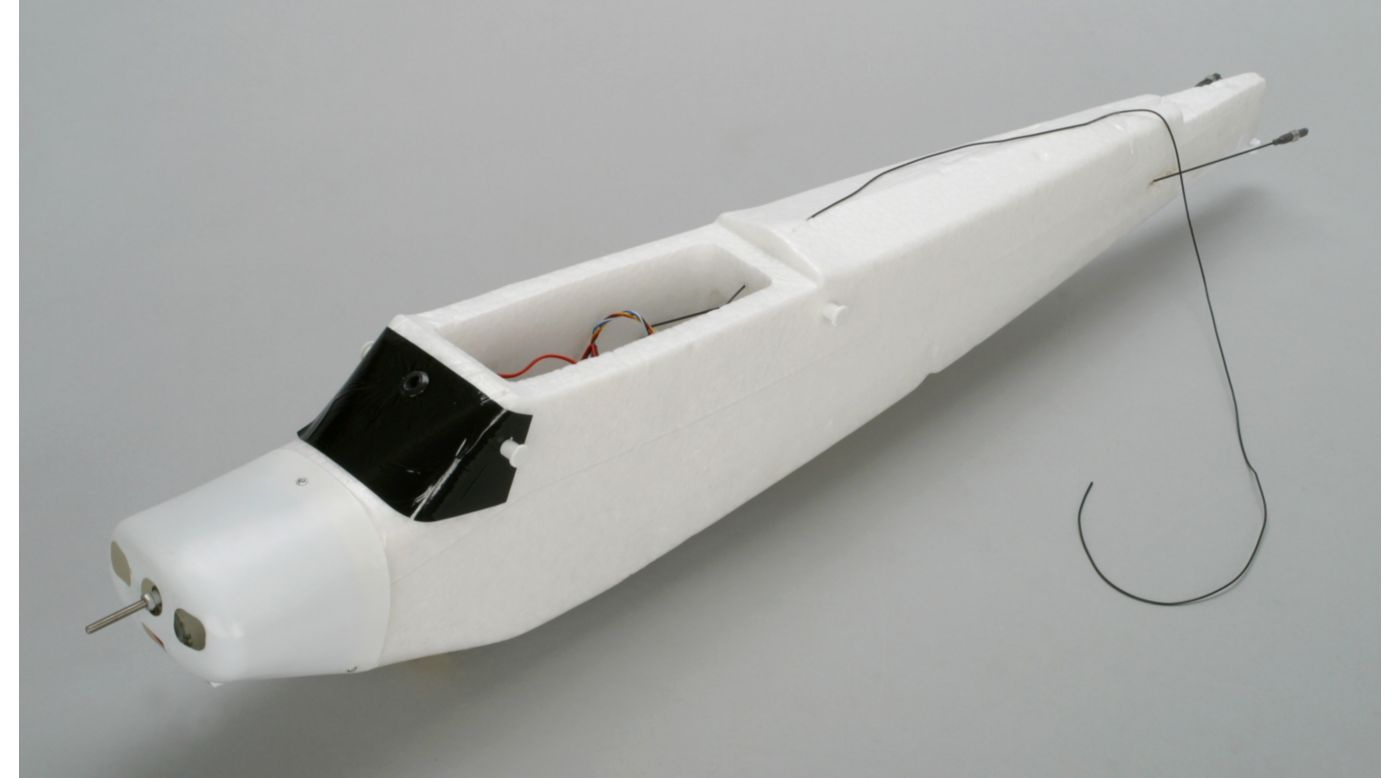 Image for Fuselage with Electronics, CH 5: Super Cub LP from HorizonHobby