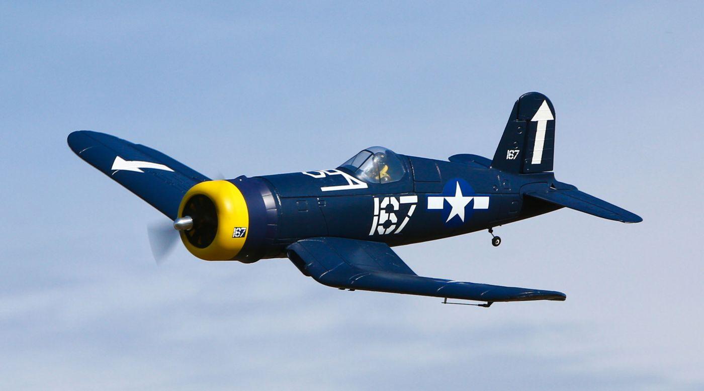 hobbyzone f4u corsair s rtf airplane with safe174 technology