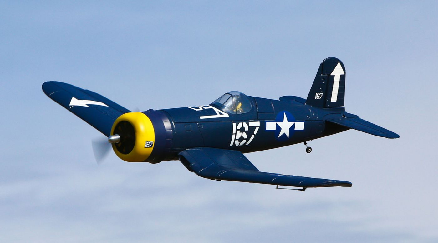 Image for F4U Corsair S 1.1m BNF with SAFE® from HorizonHobby