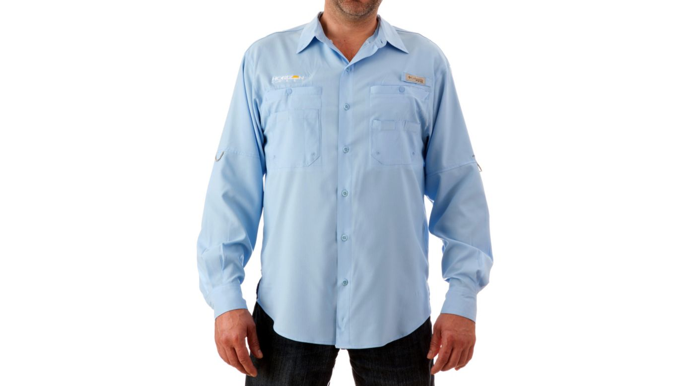 Image for Bonehead Long Sleeve Shirt, Blue, Small from HorizonHobby