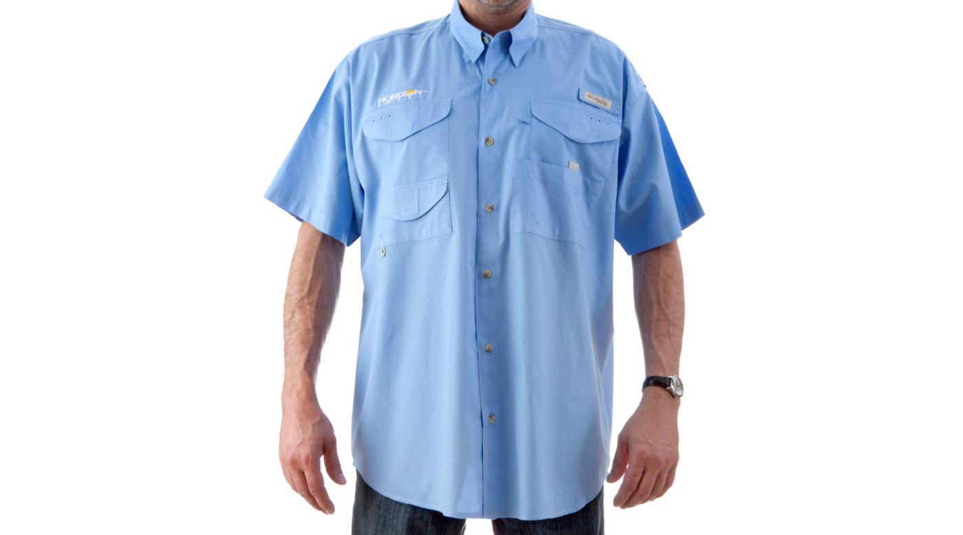 Image for Bonehead Short Sleeve Shirt, Blue, Small from HorizonHobby