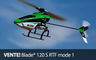 VENTE Blade 120 S RTF mode 1 RC Heli