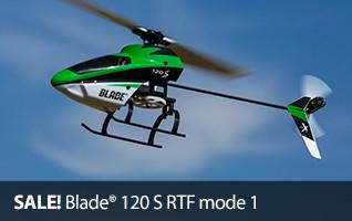 SALE Blade 120 S RTF mode 1 RC Heli