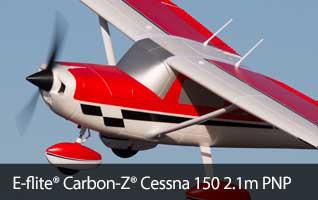 E-flite Carbon-Z Cessna 150 PNP
