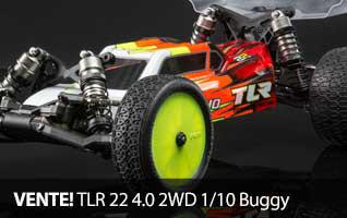 VENTE Team Losi Racing 1/10 22 4.0 Buggy Radio Control Race Kit