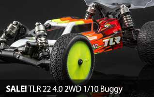 SALE Team Losi Racing 1/10 22 4.0 Buggy Radio Control Race Kit