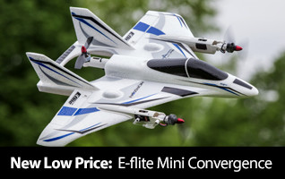New Low Price - E-flite Mini Convergence