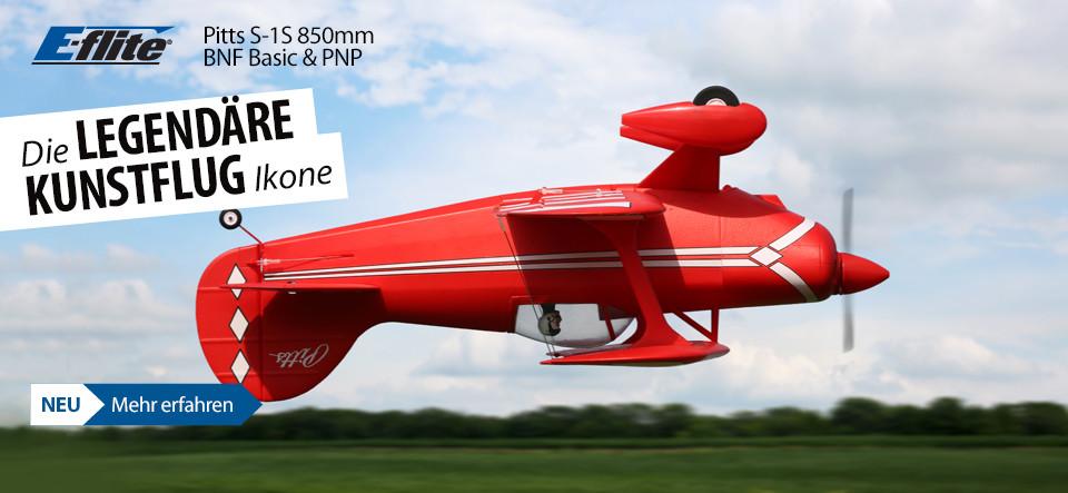 NEU! E-flite Pitts S-1S 850mm