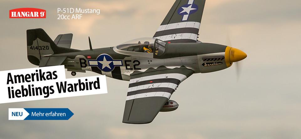 Hanger 9 P-51D Mustang 20cc