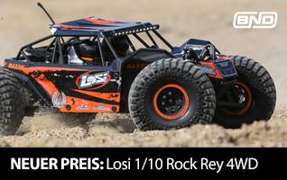 Neuer Preis! Losi 1/10 Rock Racer Brushless BND