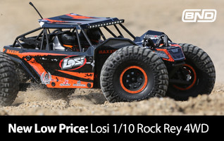 New Low Price! Losi 1/10 Rock Racer Brushless BND