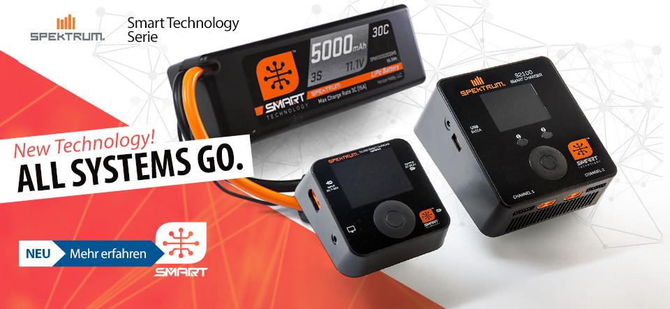 NEU! Spektrum Smart technology batteries and chargers