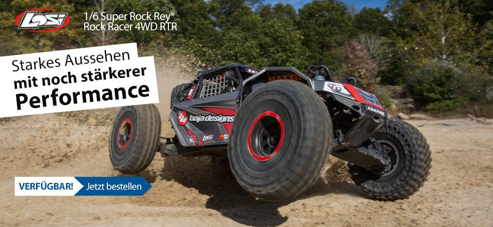 VERFÜGBAR! Losi 1/6 Super Rock Rey 4WD Brushless Rock Racer