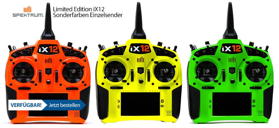 VERFÜGBAR! Limited Edition iX12 Sonderfarben Einzelsender