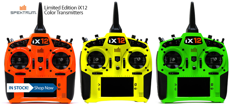 IN STOCK! Limited Edition iX12 Color Transmitters