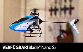 Blade Nano S2 RTF und BNF mit SAFE