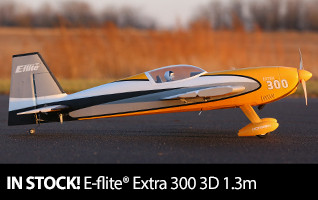 In Stock E-flite Extra 300 3D 1.3m