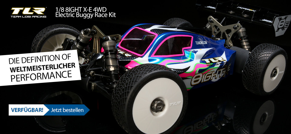 NEU! TLR 8IGHT-XE Race Kit 1/8 4WD Electric Buggy