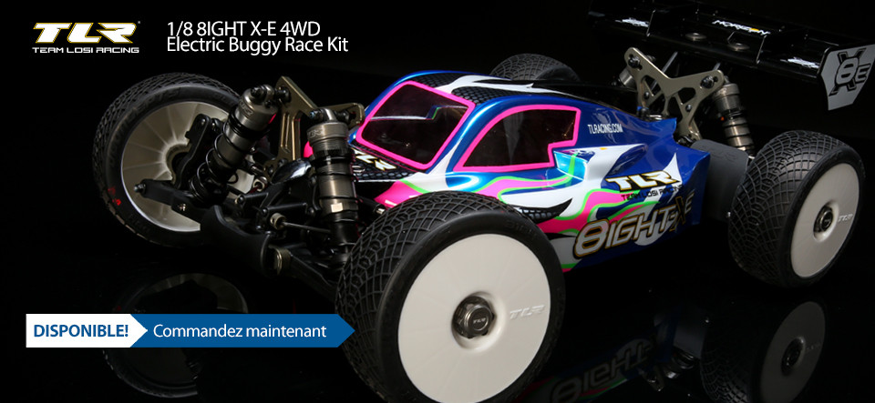NEW! TLR 8IGHT-XE Race Kit 1/8 4WD Electric Buggy