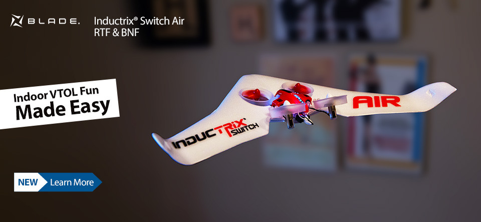 NEW! Blade Inductrix Switch Air