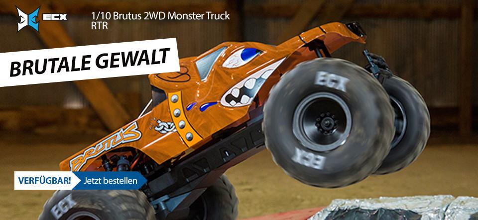 VERFÜGBAR! ECX 1/10 Brutus 2WD Monster Truck RTR