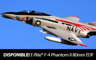 E-flite F-4 Phantom II 80mm EDF