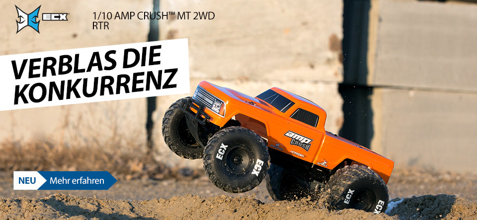 NEU! ECX 1/10 AMP Crush MT 2WD RTR