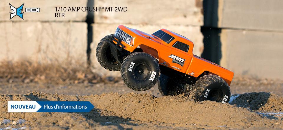 NOUVEAU! ECX 1/10 AMP Crush MT 2WD RTR