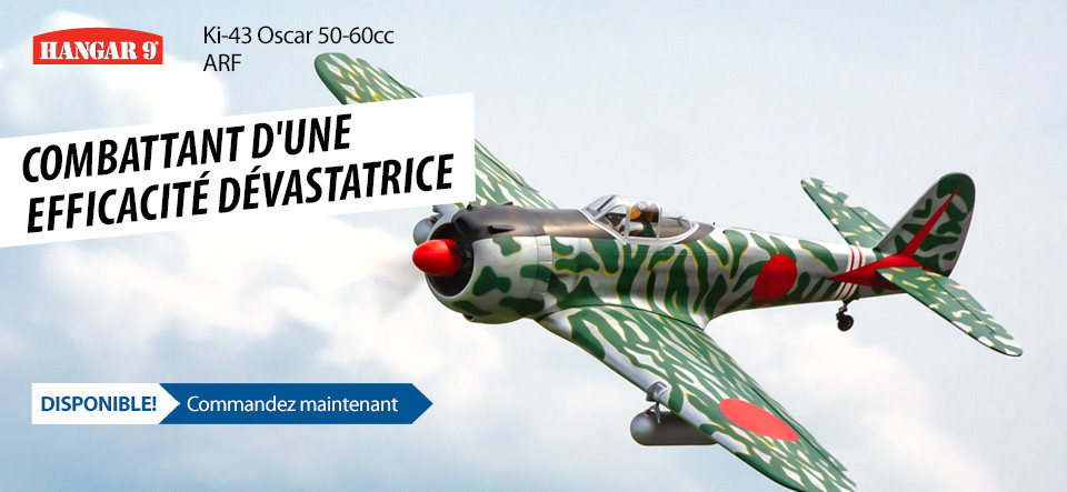 DISPONIBLE! Hangar 9 Ki-43 Oscar 50-60cc ARF