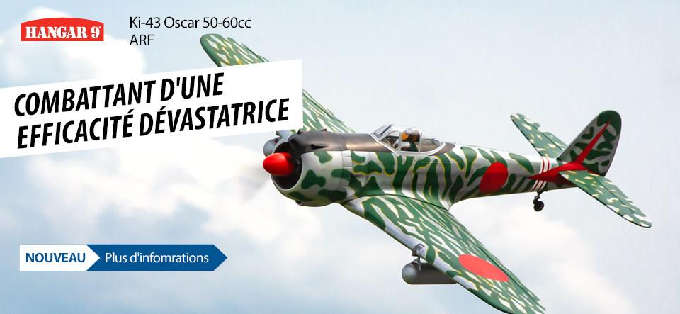 NEU! Hangar 9 Ki-43 Oscar 50-60cc ARF