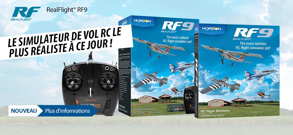 NEW! RealFlight RF9 Simulator and Controller