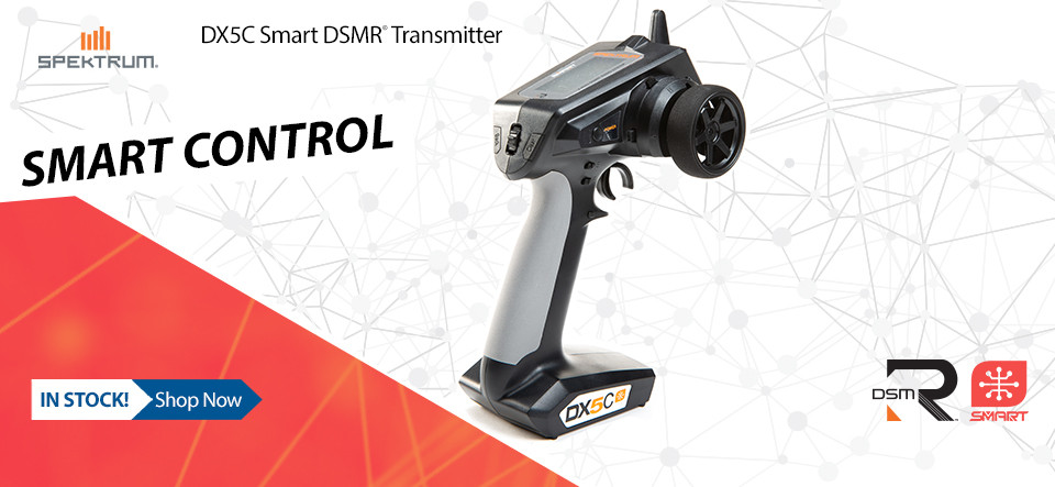 NEW! DX5C Smart DSMR Transmitter