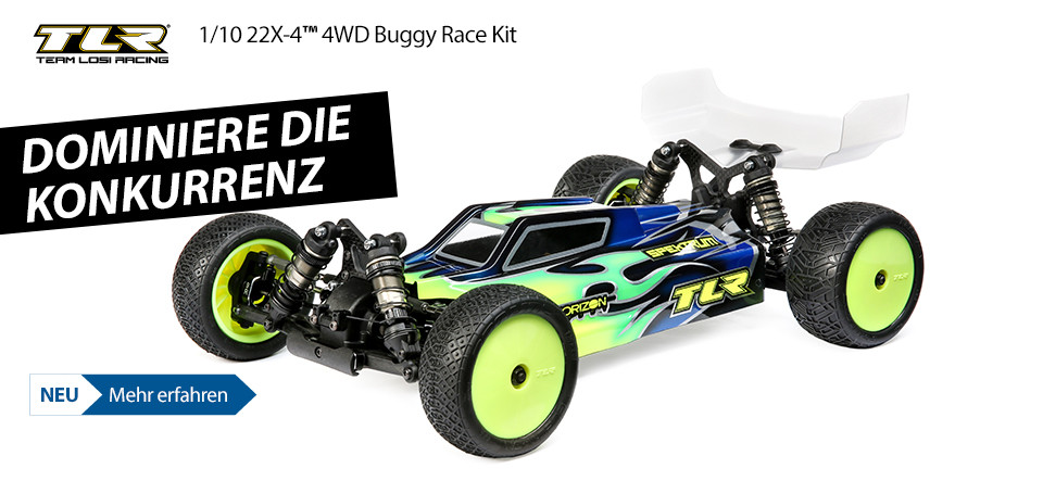 NEU TLR 1/10 22X-4 4WD Buggy Race Kit
