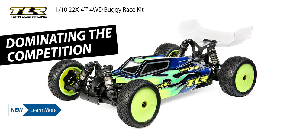 NEW TLR 1/10 22X-4 4WD Buggy Race Kit