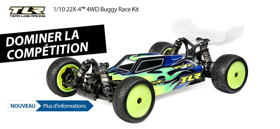 NOUVEAU! TLR 1/10 22X-4 4WD Buggy Race Kit