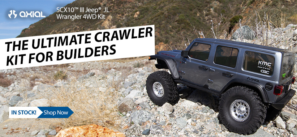 NEW! Axial SCX10 III Kit