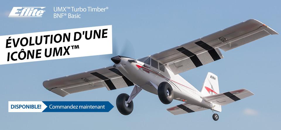 New In Stock E-flite UMX Turbo Timber