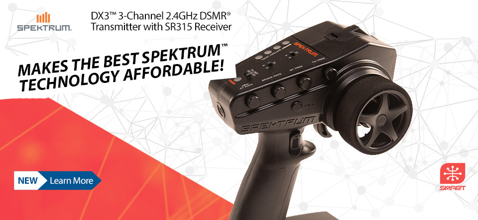 NEW! Spektrum DX3