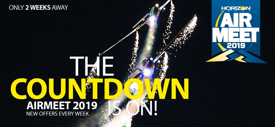 THE COUNTDOWN IS RUNNING! AIRMEET OFFERS - NEW EVERY WEEK